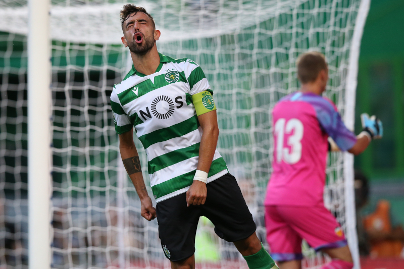 Real Madrid Reportedly Join Bruno Fernandes Race