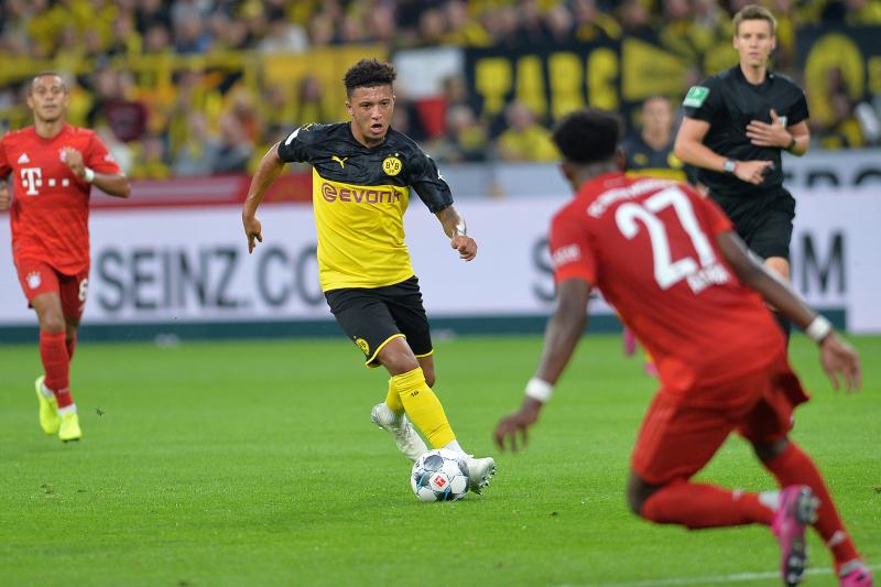 Jadon Sancho Leads Borussia Dortmund Past Bayern Munich in 2019 German Super Cup