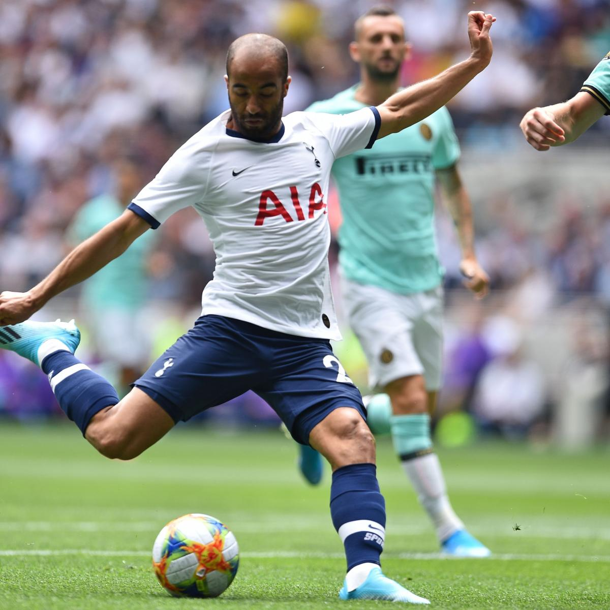 Lucas Moura Spurs Goals: Inter Milan Defeat Tottenham On Penalties In 2019