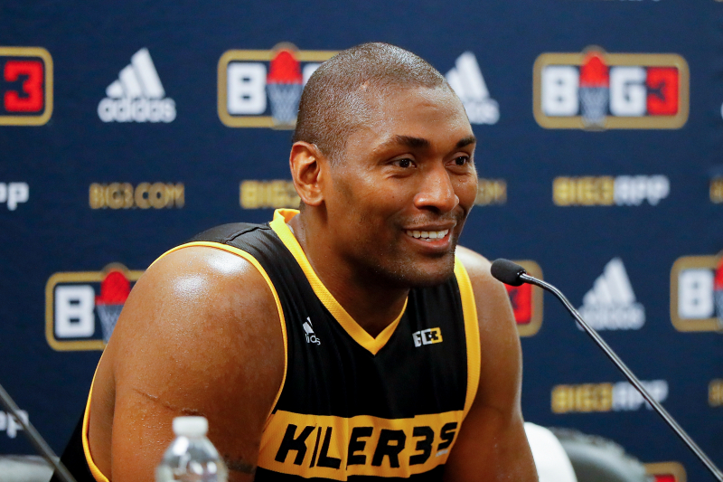 Metta World Peace Praises Musician Chris Brown, Says He Could've Made the NBA