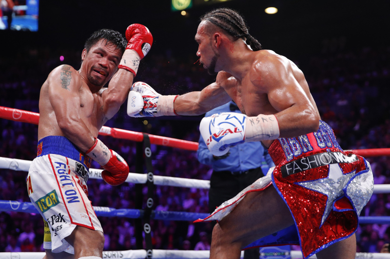 Keith Thurman Talks Split-Decision Loss to Manny Pacquiao, Requests Rematch