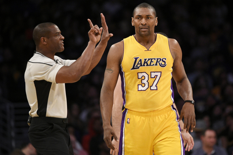 Ex-Laker Metta World Peace Says He Belongs in Hall of Fame Based on His Defense
