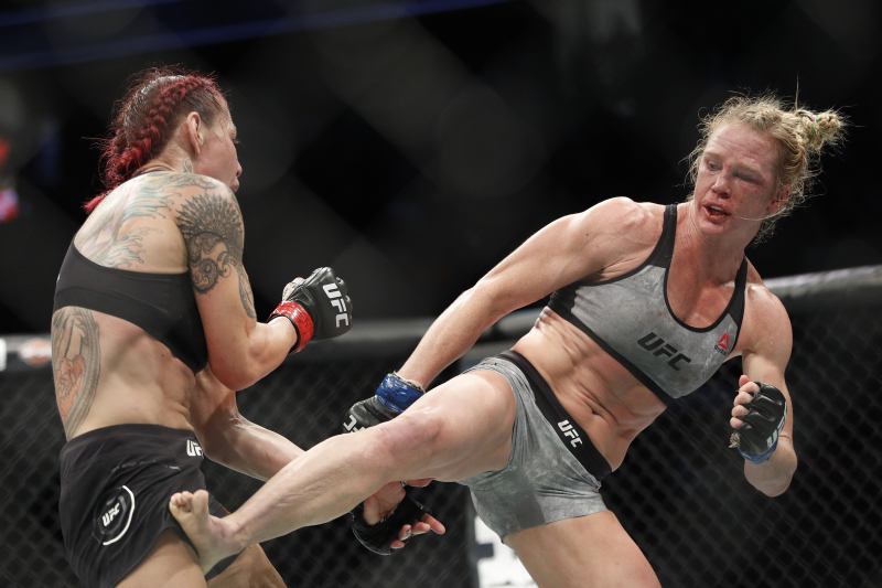 Report: Holly Holm to Face Raquel Pennington at UFC 243