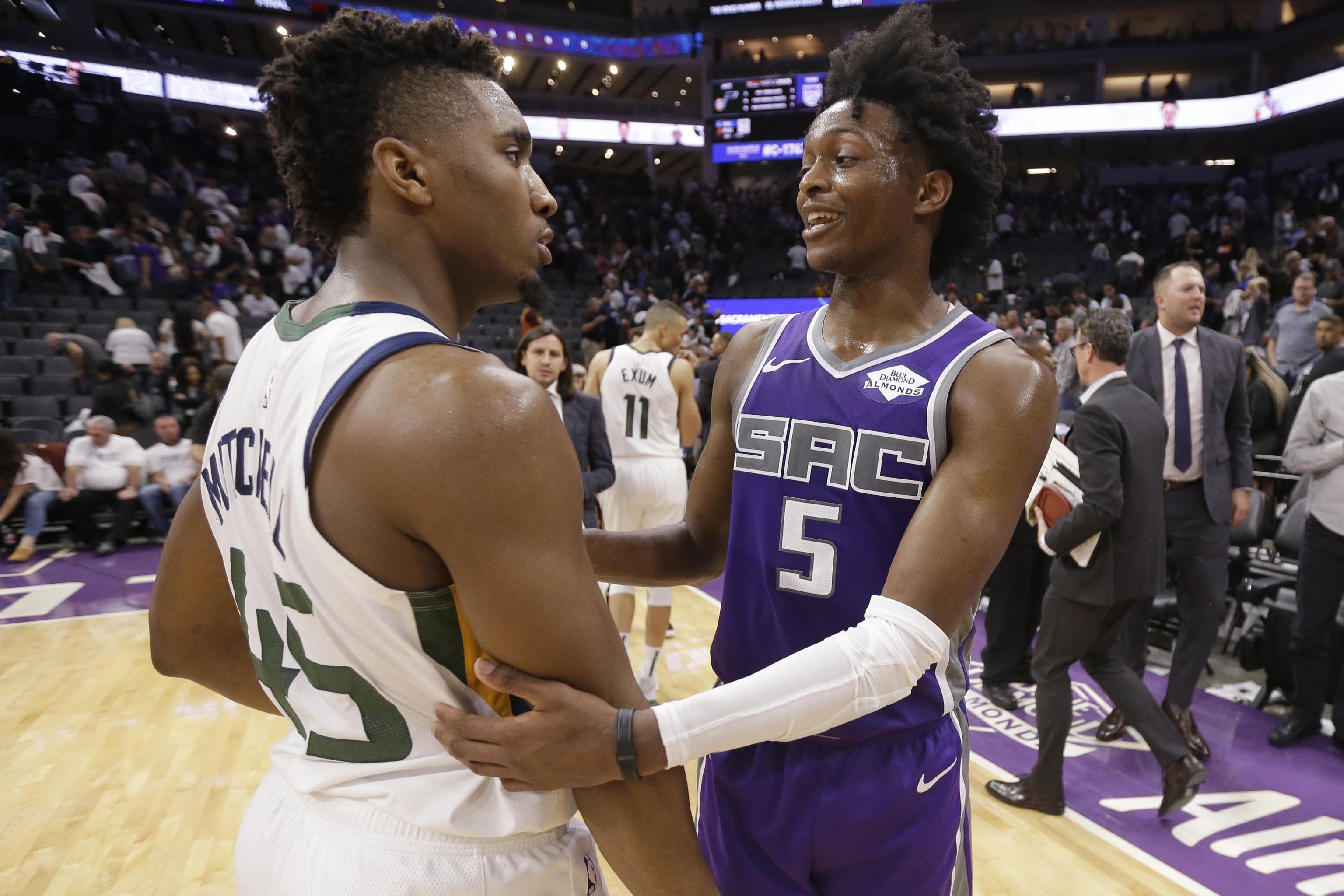 online store c905f ec3c8 NBA Rumors: Donovan Mitchell, De'Aaron Fox the 'Standouts ...