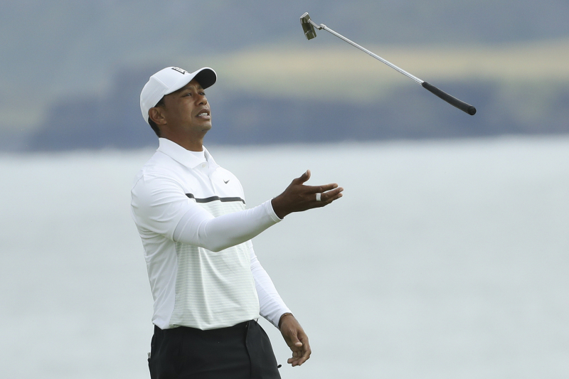 Tiger Woods on Back Injury Impacting Play at FedEx Playoffs: 'Best to Be Smart'