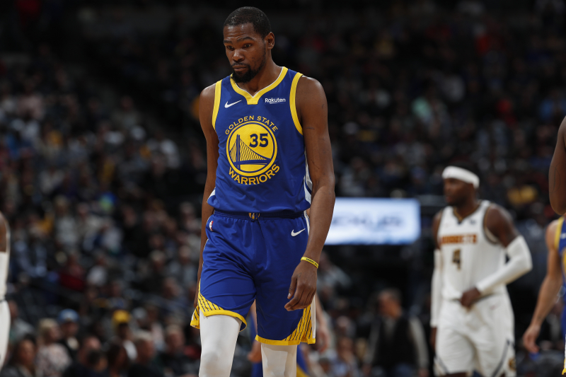 Haynes: Kevin Durant Felt Isolated with Warriors; Didn't Talk Much to Teammates