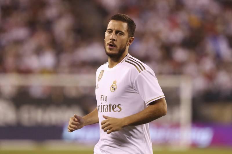 best website 32d42 24426 Eden Hazard Given No. 7 Shirt in Real Madrid Debut Season ...