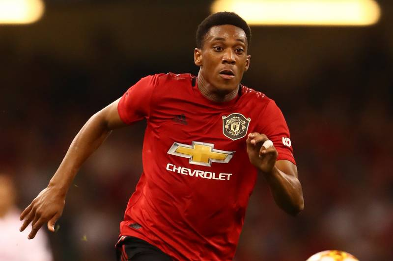 finest selection 73b94 7a21d Manchester United Give No. 9 Shirt to Anthony Martial After ...