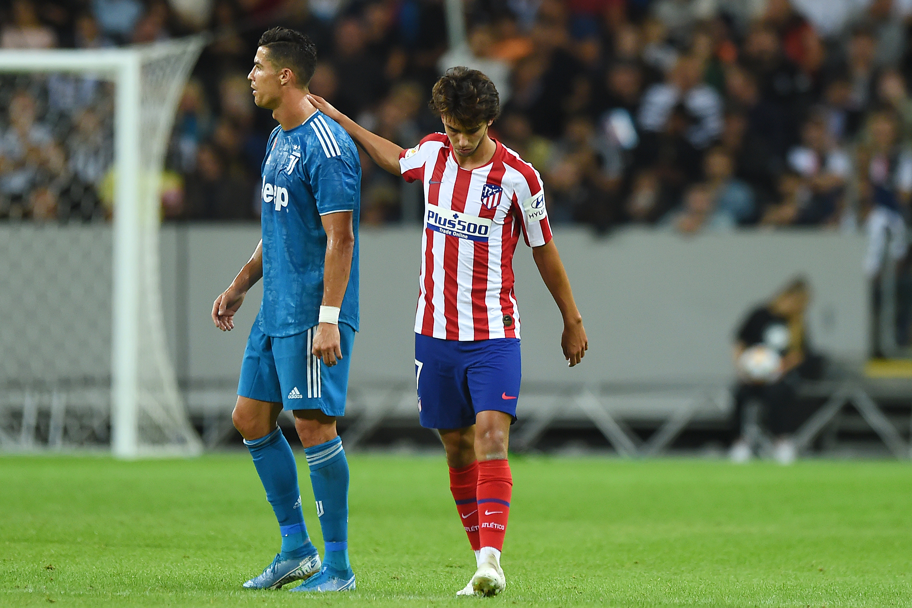 the latest ad6a5 303a9 Joao Felix, Atletico Madrid Beat Cristiano Ronaldo, Juventus ...