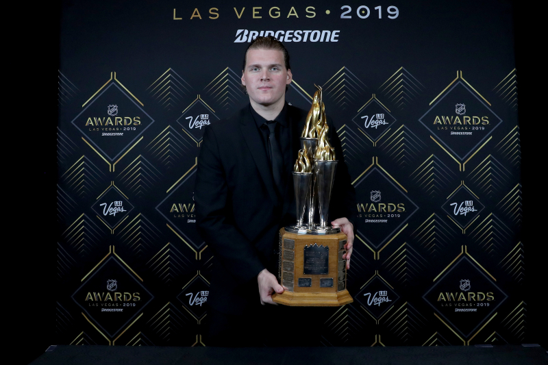 Image: NHL Engraves Wrong Team into Robin Lehner's Masterton Memorial Trophy