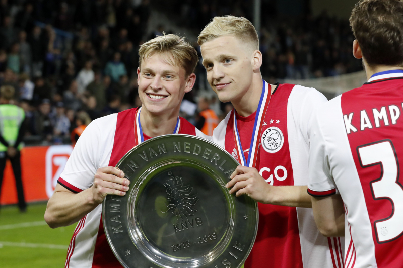 Frenkie de Jong: Donny van de Beek 'Has the Ability' to Play for Real Madrid