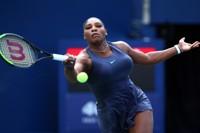 Serena Williams Retires with Back Injury in 2019 Rogers Cup Final
