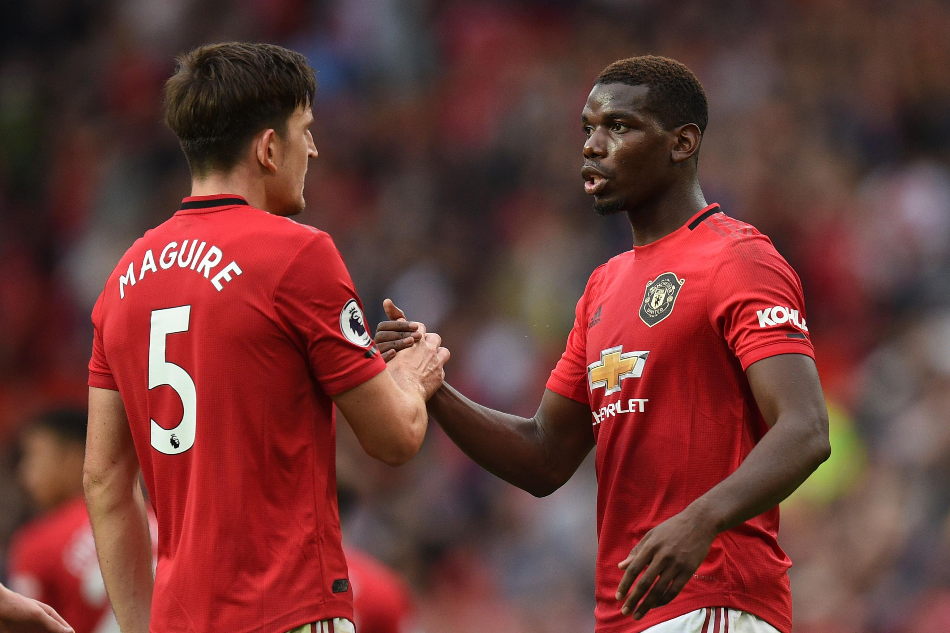 Paul Pogba Praises Harry Maguire After Man United Debut: 'I Call ...