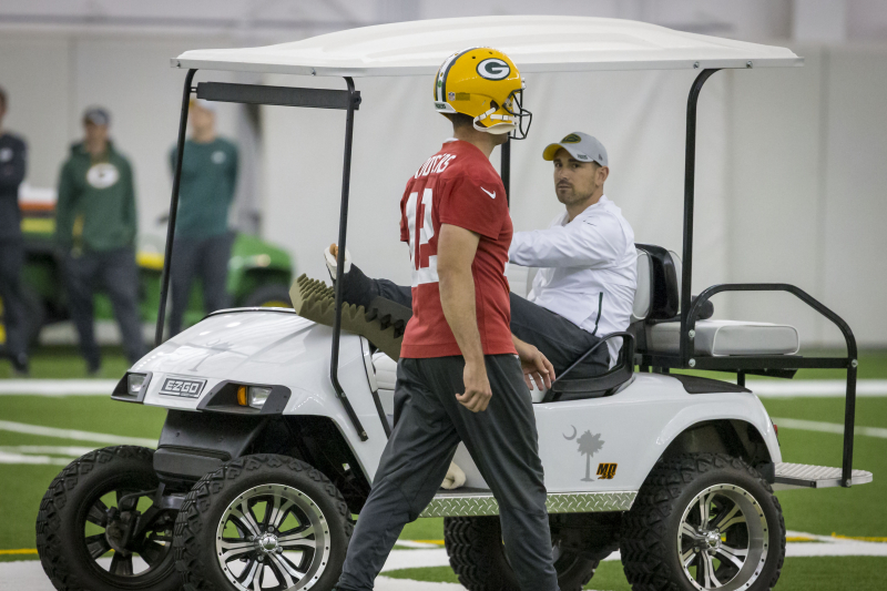 Packers' Aaron Rodgers, Matt LaFleur Discuss QB-HC Relationship with Peter King