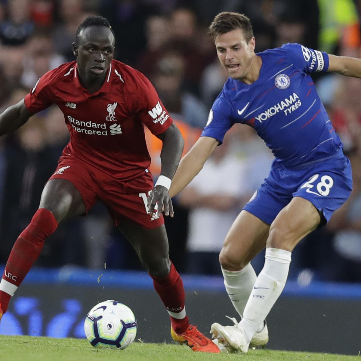 Liverpool vs  Chelsea: 2019 UEFA Super Cup TV Schedule, Live