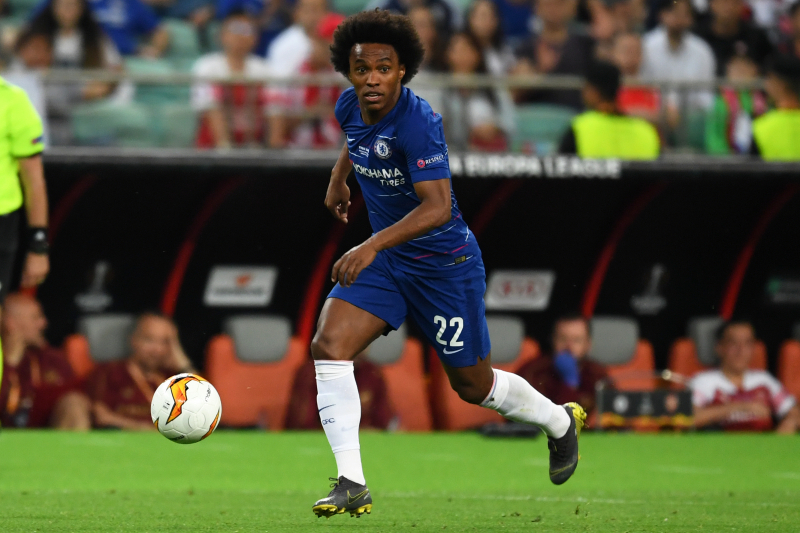 Chelsea Confirm Willian, Antonio Rudiger Return for Super Cup vs. Liverpool