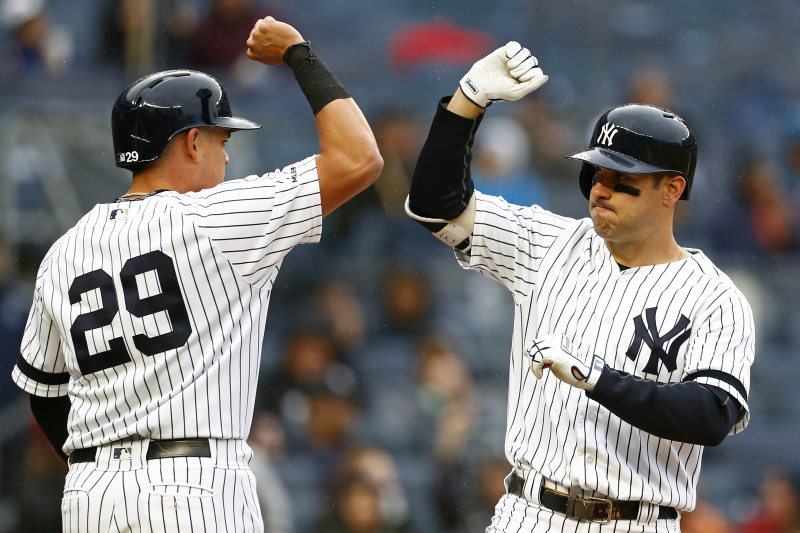 Yankees' Scrapheap Superstars Are Outperforming Harper, Machado