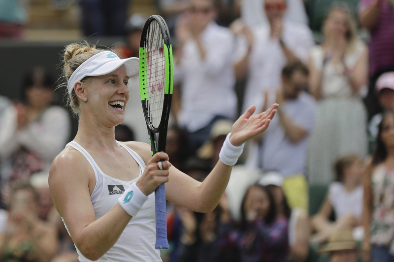 Western and Southern Open 2019: Halep Wins, Nishikori Upset in Wednesday Results