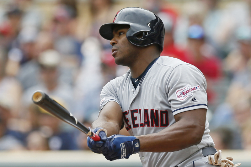Look: Indians' Yasiel Puig Celebrates Becoming an American Citizen