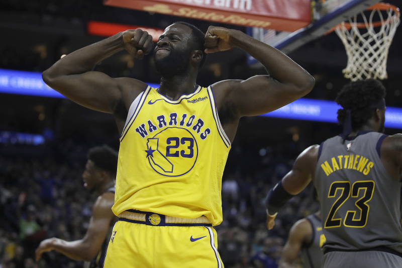 Draymond Green Talks Kevin Durant, New Contract, Warriors' Doubters, More