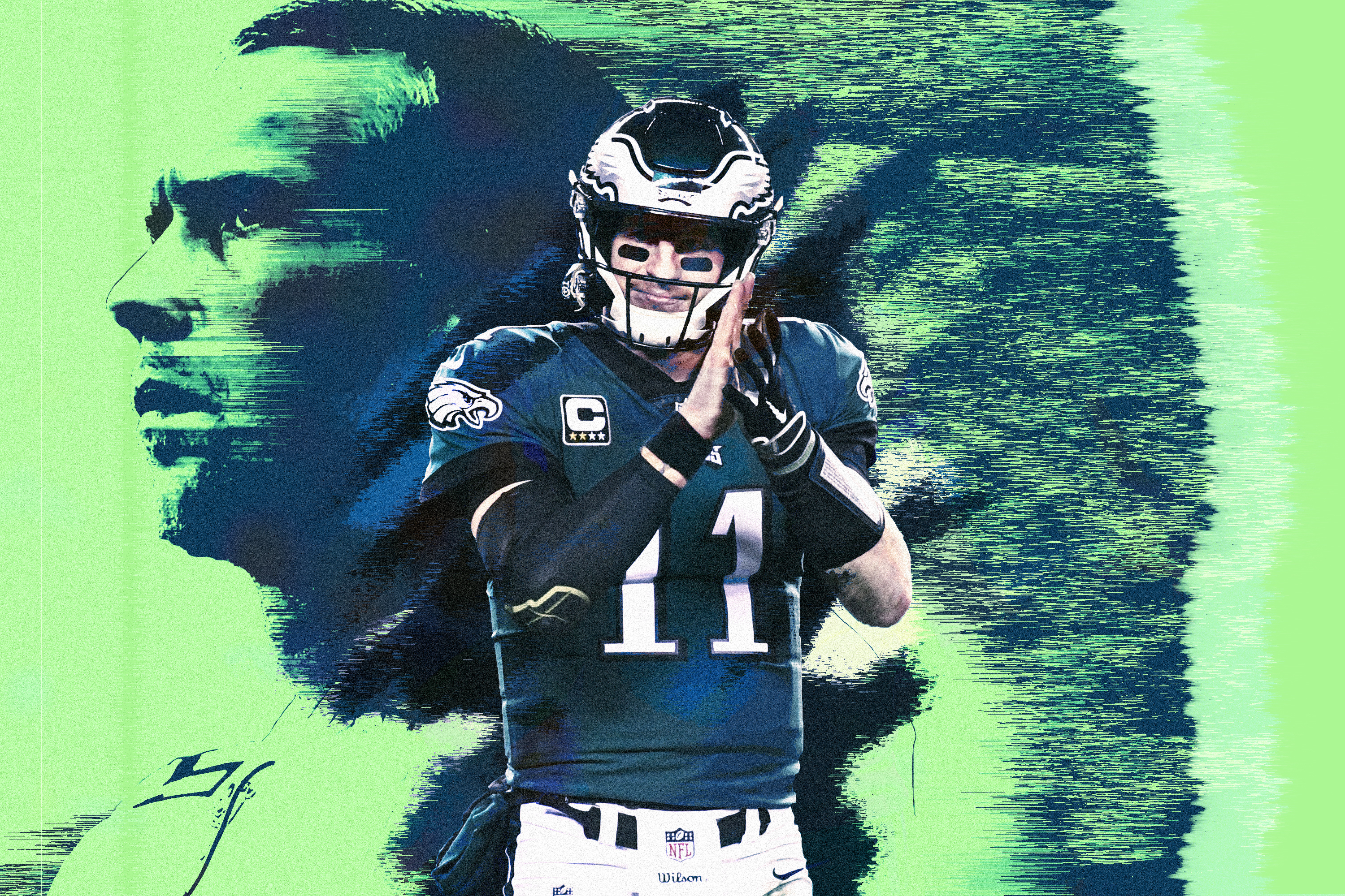 9df4ea53 Carson Wentz Is Ready to Put His Stamp on Philadelphia—and the NFL ...