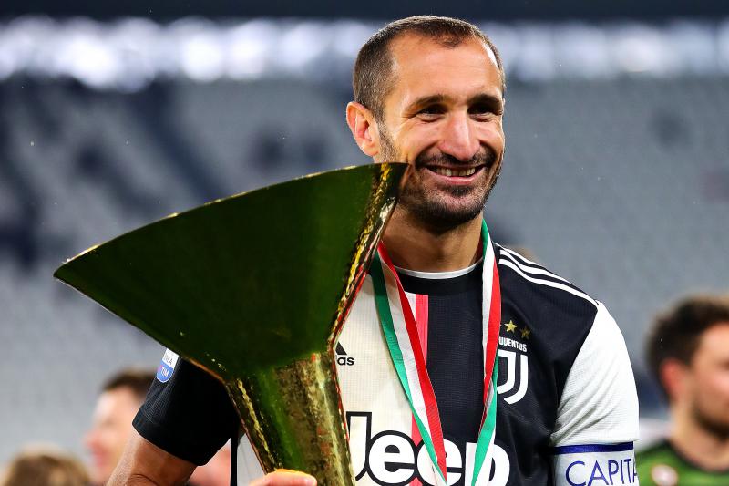Juventus' Giorgio Chiellini Talks Matthijs de Ligt Arrival, Mauro Icardi Rumours