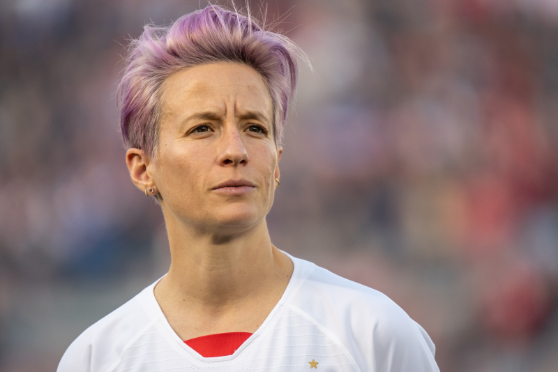 USWNT's Megan Rapinoe Says 'We Won't Accept Anything Less Than Equal Pay'