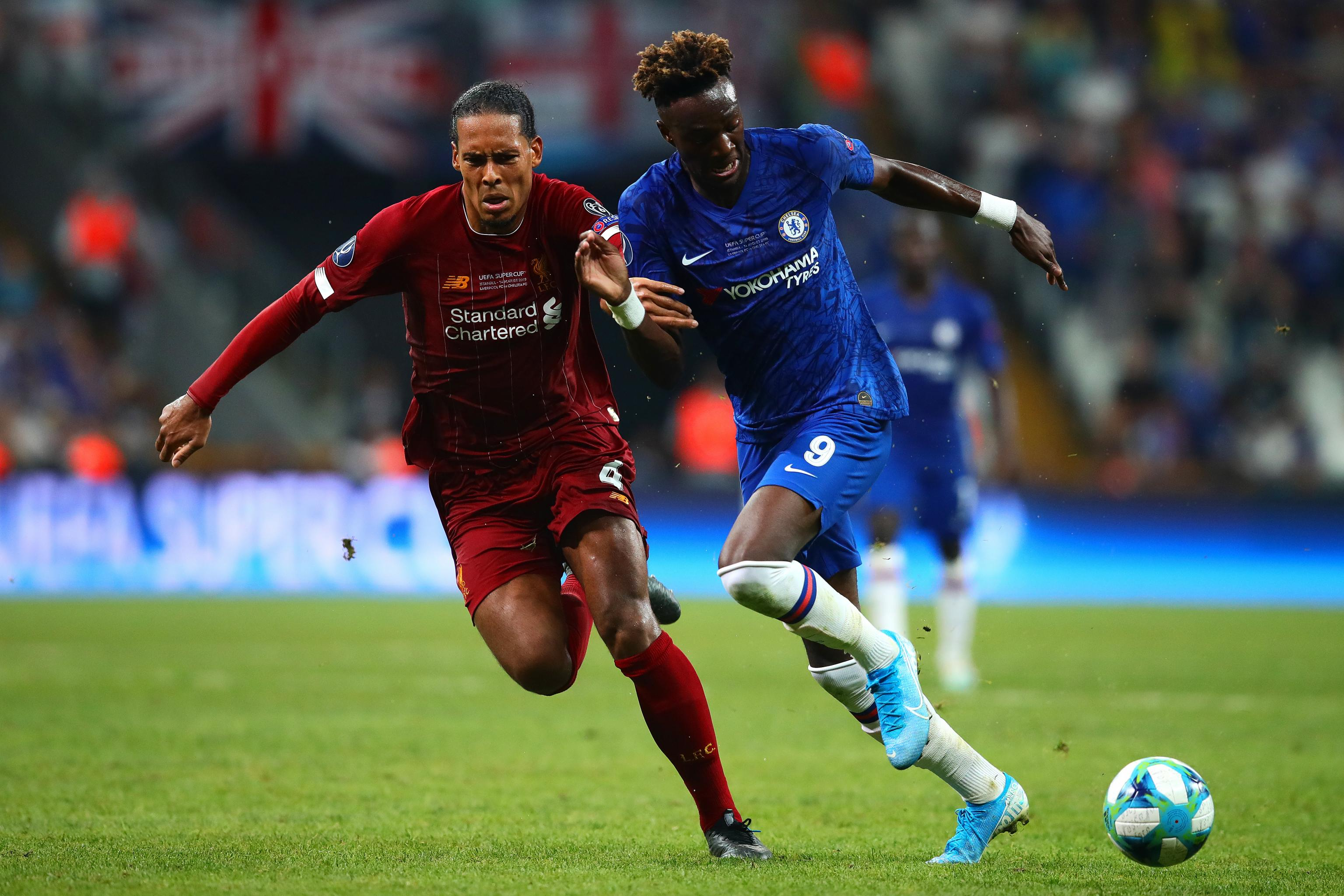 Image result for Black player was racially abused after missing a penalty last week in the UEFA Super Cup final