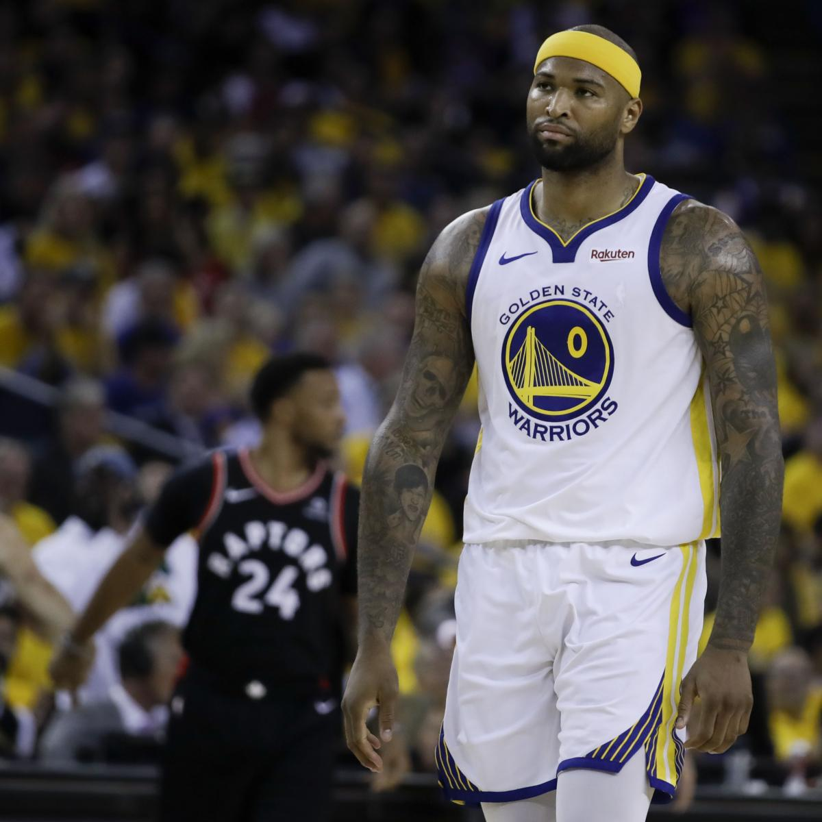 Lakers Rumors: DeMarcus Cousins Suffered Knee Injury, to Undergo Further Testing