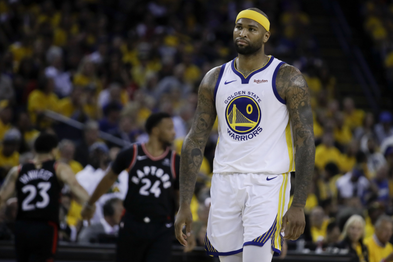 Lakers' DeMarcus Cousins Diagnosed with Torn ACL After Knee Injury