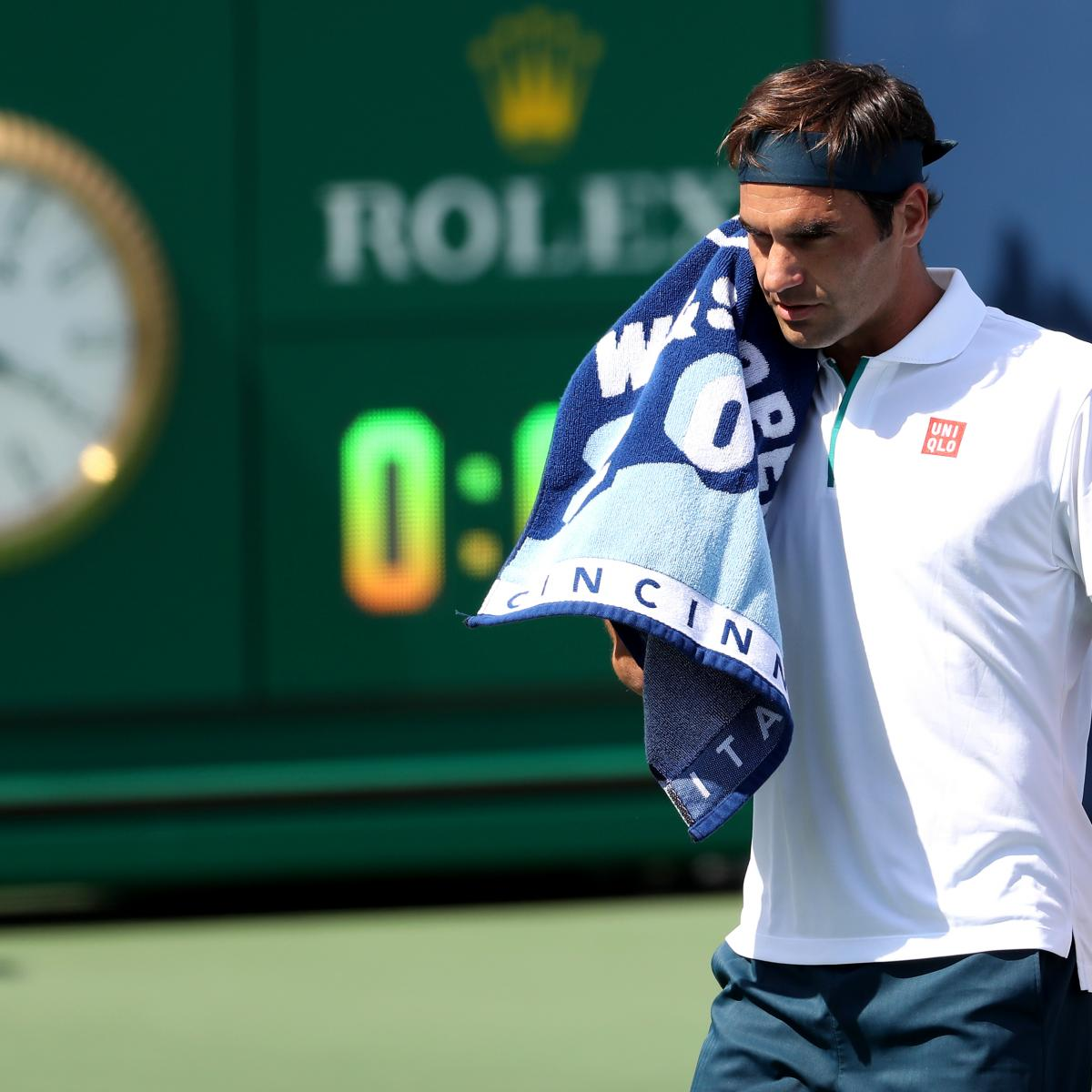 Western and Southern Open 2019: Roger Federer Upset in Thursday's ...