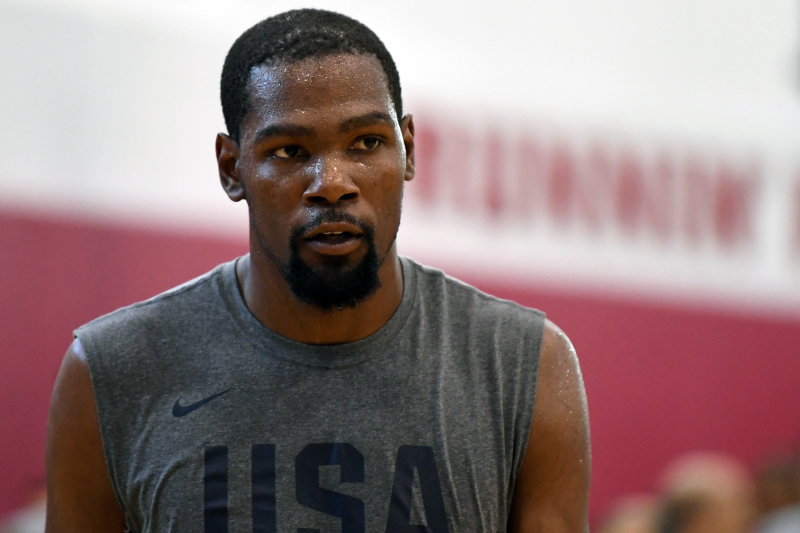 Nets' Kevin Durant Reportedly Spoke to Team USA After Scrimmage Loss