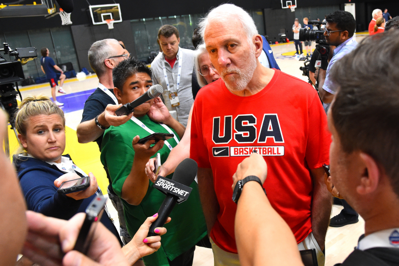 Video: Popovich Says 'We Partied Our Ass Off' After Being Cut by 1972 Team USA