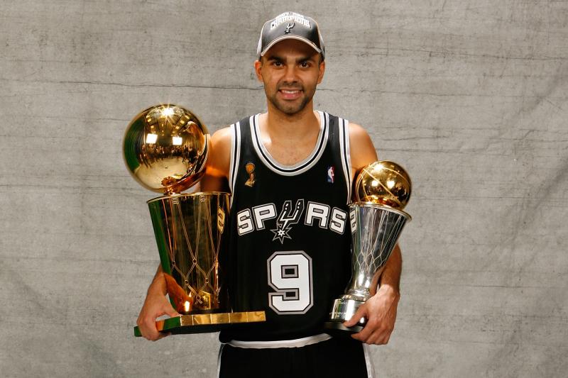 Tony Parker's Spurs Jersey to Be Retired Nov. 11