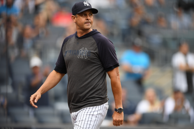 Yankees Manager Aaron Boone Says MLB Should Consider Adding Mercy Rule