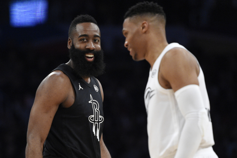 Rockets Rumors: 'No Decision' Made to Rest Harden, Westbrook for Full Games