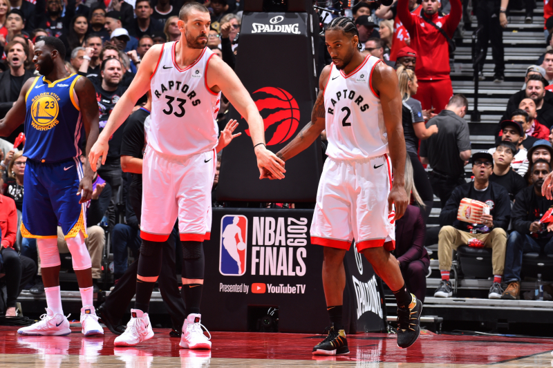 Marc Gasol 'Can't Blame' Kawhi Leonard for Leaving Raptors, Joining Clippers