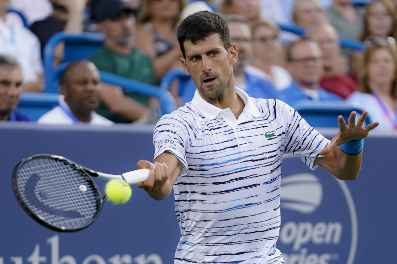 Western and Southern Open 2019: Novak Djokovic Wins, Venus Williams Loses Friday