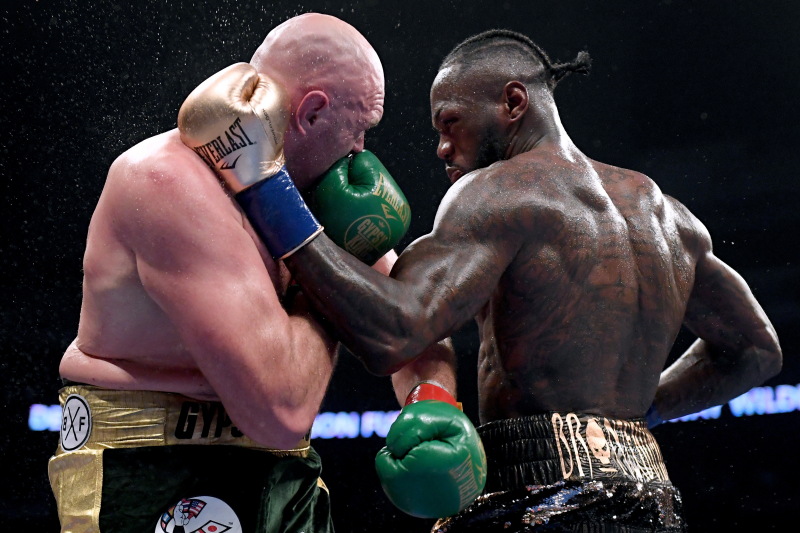 Video: Tyson Fury Announces Deontay Wilder Rematch Scheduled for Feb. 22