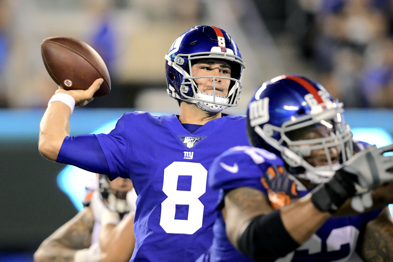 Giants HC Pat Shurmur Praises Daniel Jones: QB 'Will Be Ready' When It's Time