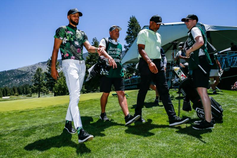 Report: Warriors' Stephen Curry Starting Golf Team at Howard University