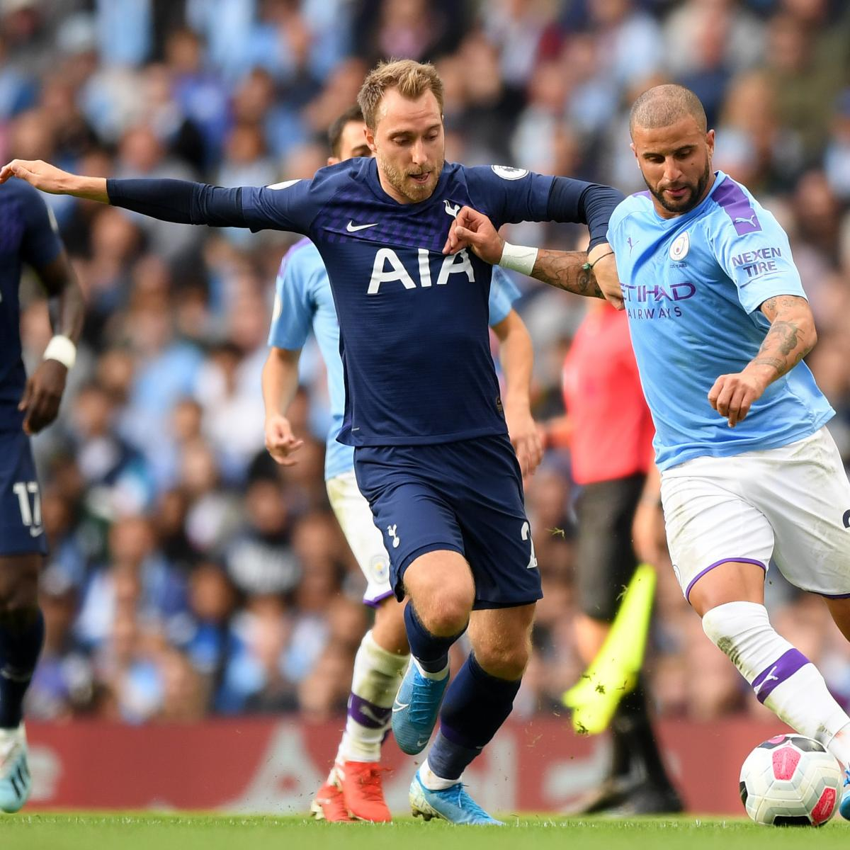 Lucas Moura Spurs Goals: Manchester City, Tottenham Hotspur Draw 2-2 In Week 2