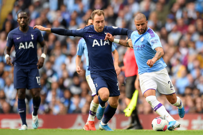 Manchester City, Tottenham Hotspur Draw 2-2 in Week 2 Premier League Match