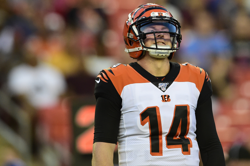 Andy Dalton Isn't the Guy; Just Move On, Bengals