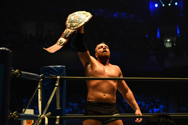 Video: Watch AEW's Jon Moxley Unmask Pentagon Jr. in Win at Northeast Wrestling