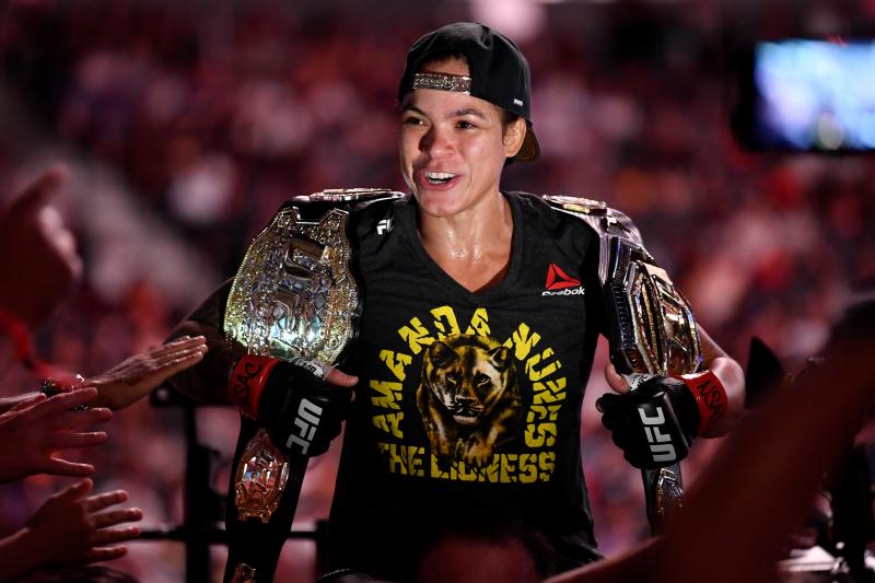 Report: Amanda Nunes vs. Germaine de Randamie Title Fight Set for UFC 245