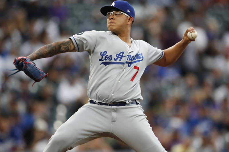 Dodgers' Julio Urias Suspended 20 Games for Violating Domestic Violence Policy