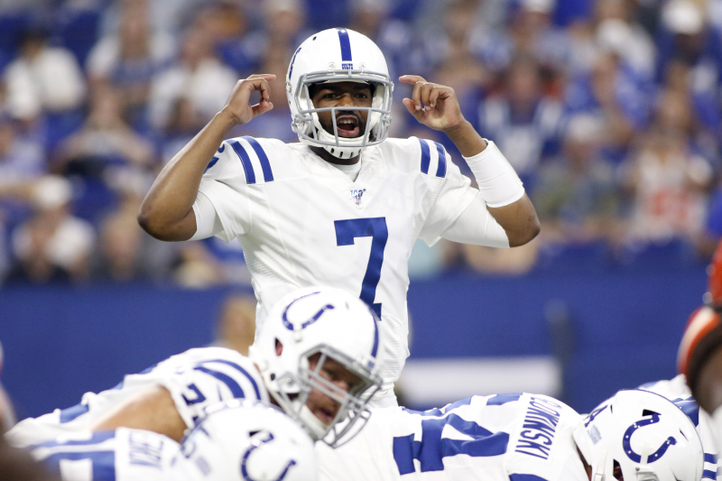 Jacoby Brissett Shines in Colts' Loss to Browns Amid Andrew Luck's Injury Woes