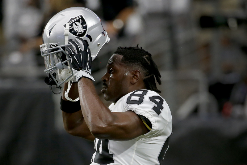Raiders Rumors: Antonio Brown's New Schutt Helmet Failed NFL Safety Testing
