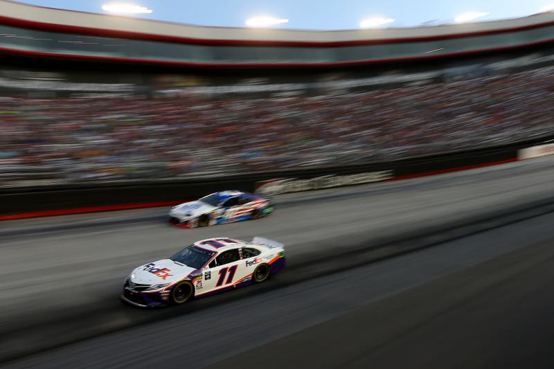 NASCAR at Bristol 2019 Results: Denny Hamlin Edges Matt DiBenedetto for Win